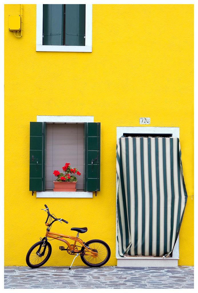 Colours of Burano 2 by Bizzio