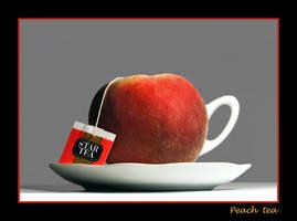 Peach tea by Bizzio