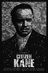 Citizen Kane poster by Emmanuel-B