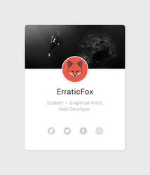 New website! by Erratic-Fox
