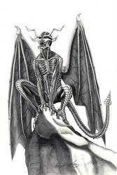 Demon design by diegolopezmata