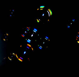 Soap bubbles by Midori-no-Sora