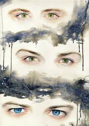 Supernatural Eye Portraits by PrincessLaguia