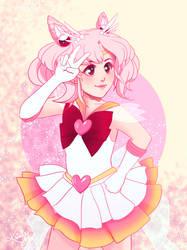 Super Sailor Chibi Moon by PrincessLaguia