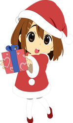 Yui in Christmas Outfit by Rayz141