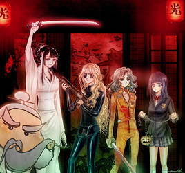 Halloween Kill Bill Cosplay by Tidi-Lebre