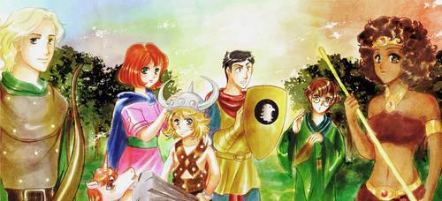 Dungeons n Dragons by Tidi-Lebre