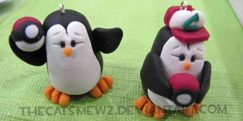 Pokemon Penguins by thecatsmewz