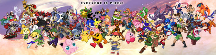 EVERYONE IS PIXEL! (UPDATE) by FoxMT