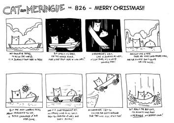 Cat and Meringue Christmas Special by nichangell