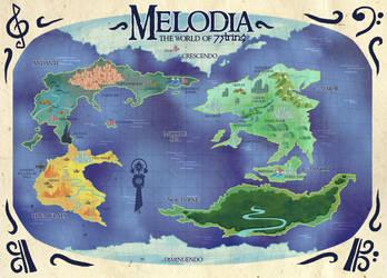 New 7STRING World Map by nichangell