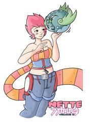 Nette Pinup by nichangell