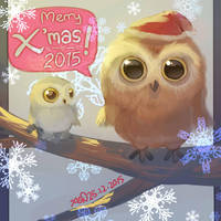Merry Xmas 2015 by christon-clivef