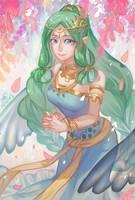 HM- Harvest goddess by christon-clivef