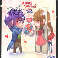Ib- Happy Valentine's Day 2016 by christon-clivef