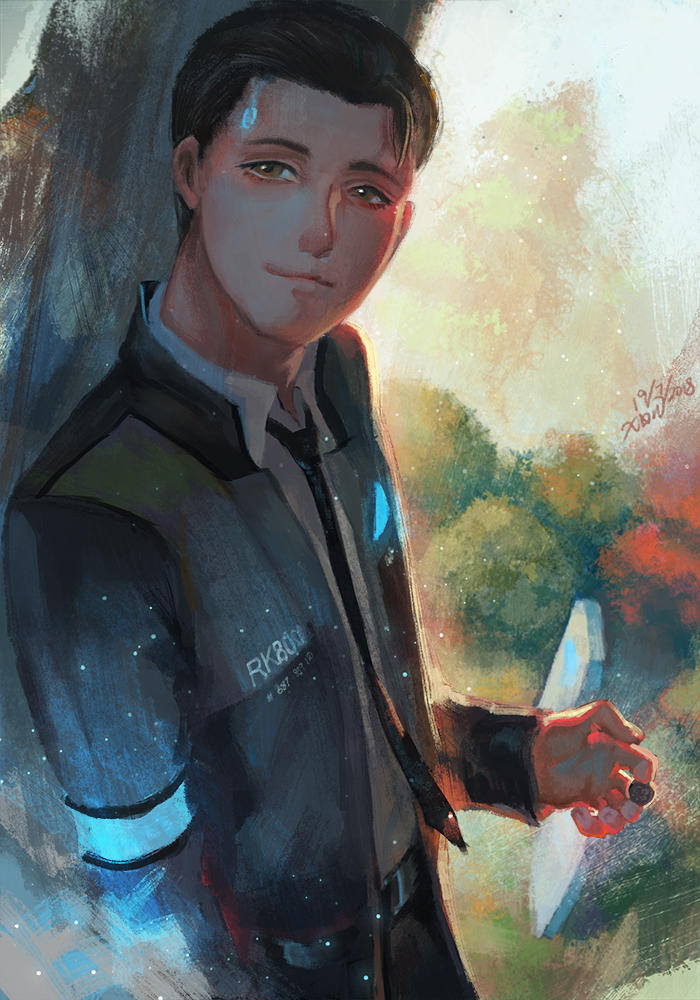 Detroit Become Human- Connor by christon-clivef