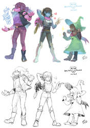 Doodle- Deltarune by christon-clivef