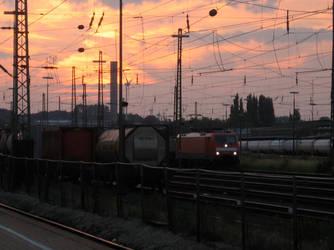Sunset in Aachen West by ZCochrane