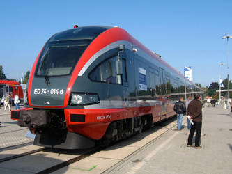 Innotrans 2008 - PKP ED74 by ZCochrane
