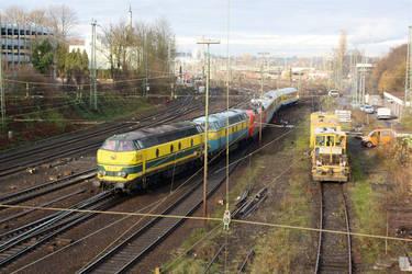 Measuring Train - The Departur by ZCochrane
