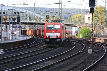 DB 186 in Aachen by ZCochrane