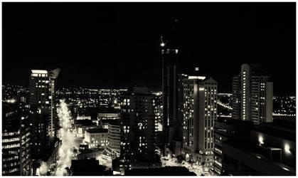 Brisbane by night by FrankVanImschoot