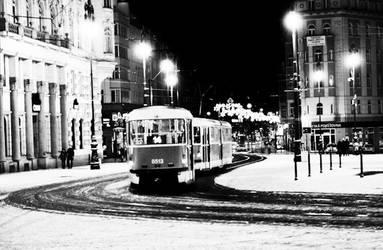 Winter tramp by FrankVanImschoot
