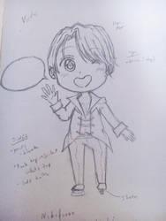 Chibi Viktor! by YuukiCross5