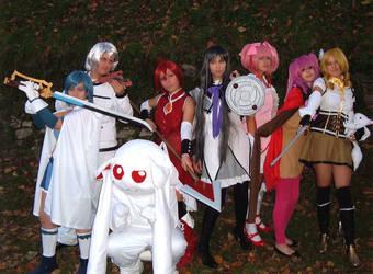 Group of Madoka by Dia-Rei