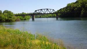 Bridge over rough waters by Growlie26