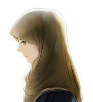 Hijab Girl by Linanatsu