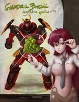 Giga Drill Broccoli by lilythescorpio