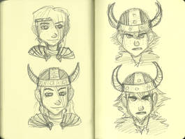 HTTYD Moleskine by Coptermode
