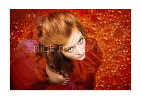 Girl in red by nico-blue