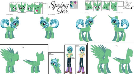 Spring Ice's reference (Redo) [Update] by Starryskystorm