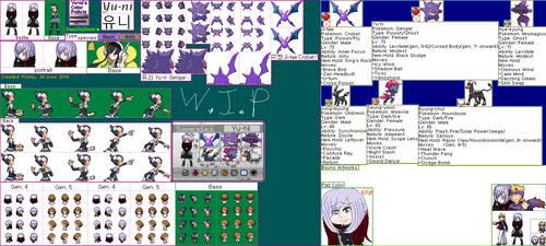 Yu-Ni's pokemon sprite [W.I.P] by Starryskystorm