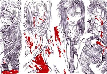 Second_Tribute:Saiyuki by Claire-Maeda