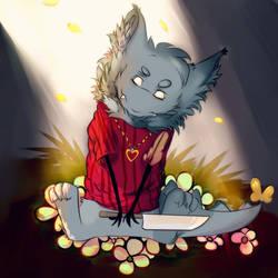 Wrex - Gift art by Kokamiii