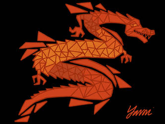 Flaming Dragon by yavni