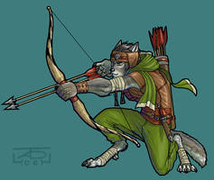 D and D -  Ranulf by KaiserFlames