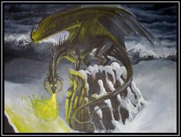 Black Dragon by KaiserFlames