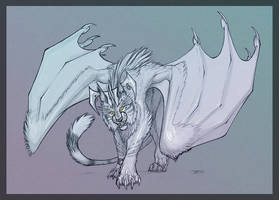 Draconic Tiger by KaiserFlames