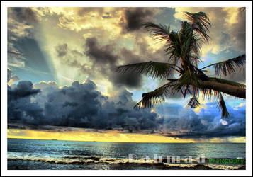 Sunset Pantai padang by pemburulandscapeduo