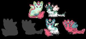 Wisp x Aquillis Breeding Results(*Closed*) by xavs-pixels