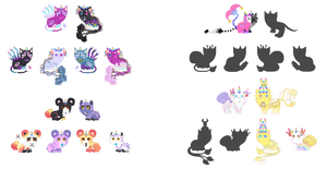Breeding Batch With xxliquidrainbowxx 2(*2 Open*) by xavs-pixels