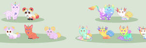 Breeding Batch With Queen-of-Color(*1 Open*) by xavs-pixels