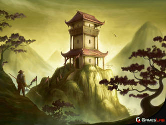 Shogun Fortification Outpost by effenndee