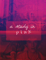 Poster: A Study In Pink by AnetteSomerhalder
