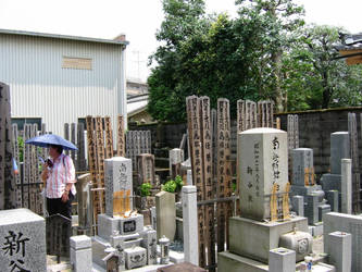 0138 Kyoto graveyard by nipponstar