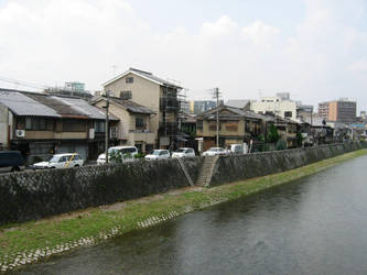 141 Kyoto riverside by nipponstar